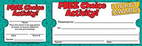 9780545119191: Free Choice Activity Ticket Awards