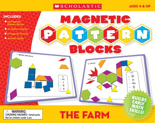 9780545119368: The Farm Magnetic Pattern Blocks