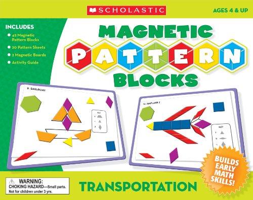 9780545119375: Transportation Magnetic Pattern Blocks
