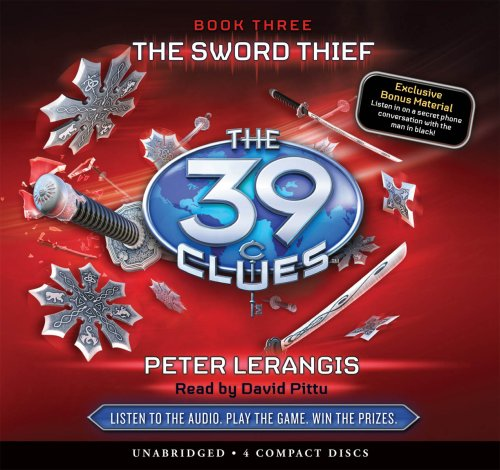 9780545119498: The Sword Thief (The 39 Clues, Book 3) - Audio Library Edition
