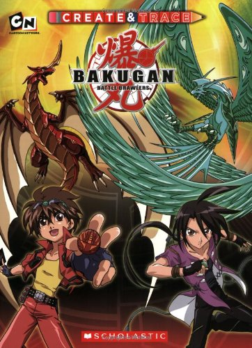 9780545123044: Bakugan: Create and Trace