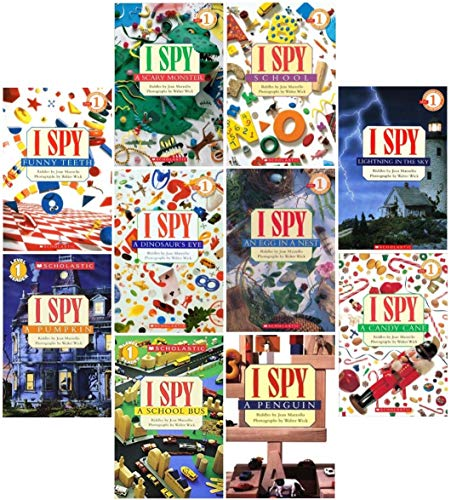 I Spy Readers Complete 10-Book Set (054512574X) by Jean Marzollo
