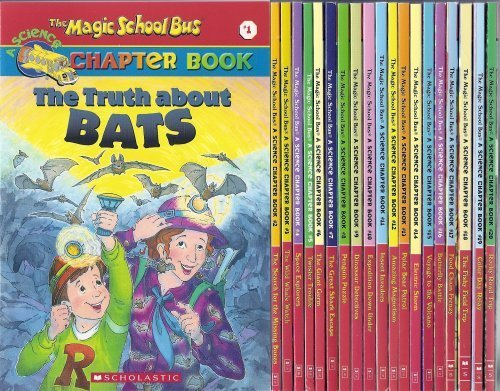 9780545127219: The Magic School Bus Chapter Book (20 Book Set)