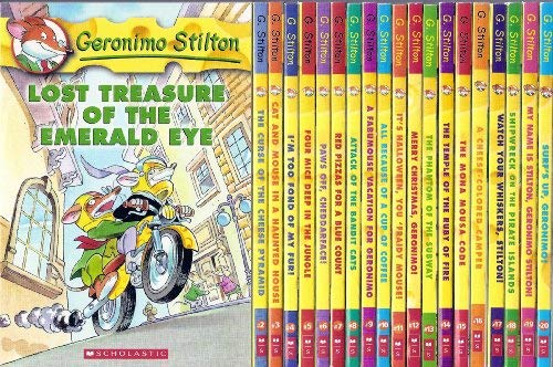 Geronimo Stilton Set, Books 1-41