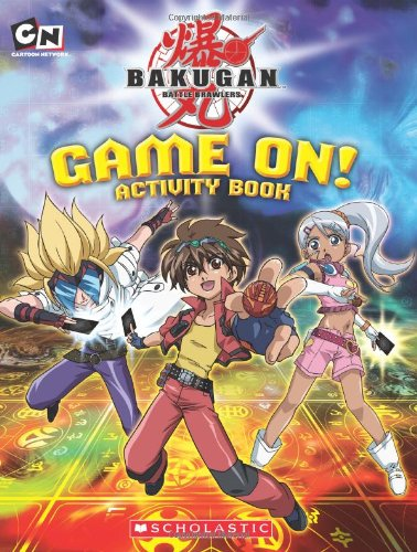 Bakugan: Game On! Activity Book: Scholastic, West, Tracey