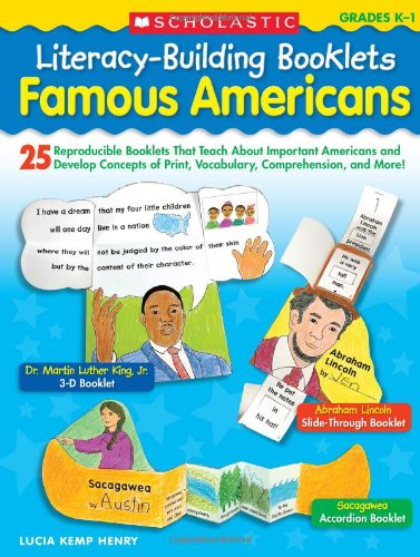 Famous Americans : 25 Reproducible Booklets That: Lucia Kemp Henry