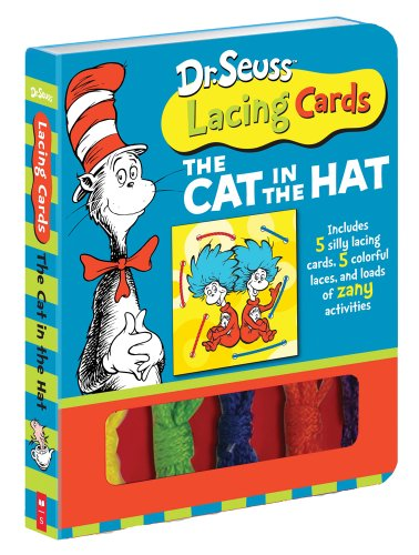 9780545137645: Dr. Suess Lacing Cards: The Cat in the Hat (Dr. Seuss Novelty Se)