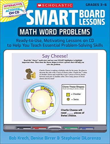 9780545140249: SMART Board® Lessons: Math Word Problems: Ready-to-Use, Motivating Lessons on CD to Help You Teach Essential Problem-Solving Skills