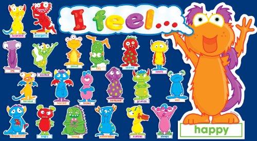 9780545140676: Monster Feelings Mini Bulletin Board (Mini Bulletin Boards)