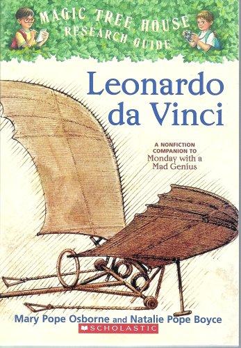 9780545148832: Leonardo da Vinci: A Nonfiction Companion to Monday with a Mad Genius (Magic Tree House Research Guide)