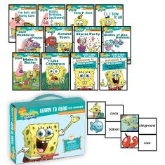 Learn To Read With Spongebob (a Phonics Reading Program Level 2)
