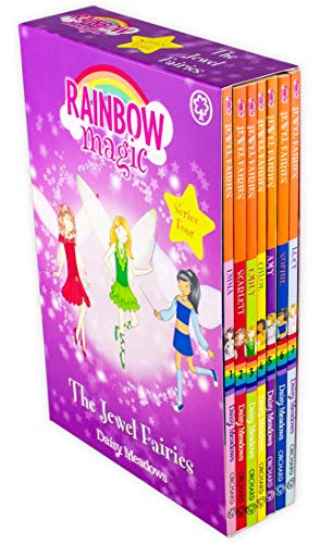 The Jewel Fairies Complete Set, Books 1-7: India the Moonstone Fairy, Scarlett the Garnet Fairy, ...