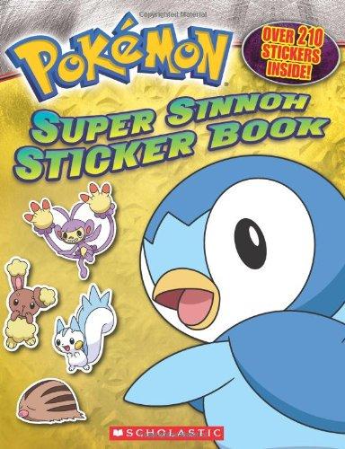 9780545151313: Super Sinnoh Sticker Book