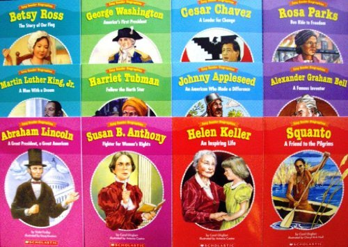 9780545160100: New Set 12 Levelled Biography Readers Scholastic Easy Reader Biographies Teachers Supplies Reading History (Scholastic Teaching Resources, Easy Reader Biographies) by Danielle Blood (2007-05-03)