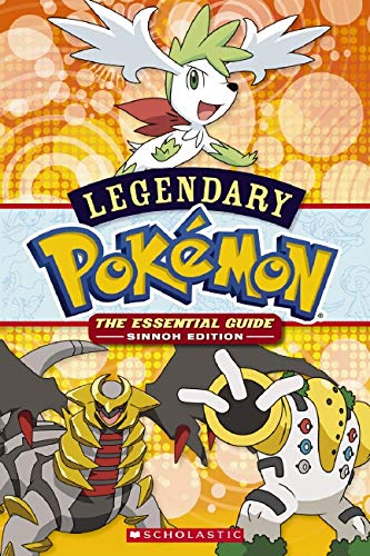 Pokemon: Legendary Pokemon 9780545160230 For Ash and friends, the Sinnoh Region has been an incredible journey full of adventure. And in the newest season, it only gets better! Check out all the fun in the Sinnoh Reader #5, created especially with beginning readers in mind.