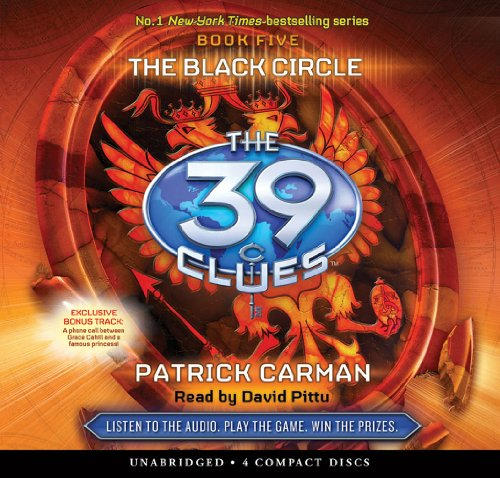 9780545160865: The Black Circle (The 39 Clues , Book 5) - Audio Library Edition