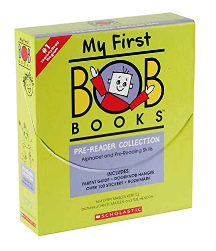 9780545161169: My First BOB Books COLLECTION Box Set [Alphabet & Pre-reading Skills] [24 Books] (Age 2 and Up)