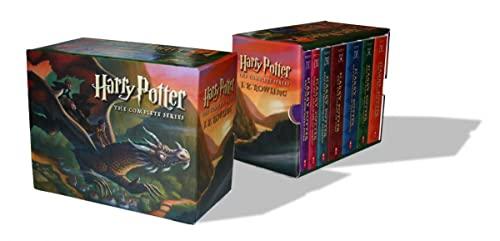9780545162074: Harry Potter Paperback Boxed Set: Books #1-7