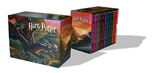 9780545162074: Harry Potter Paperback Boxed Set: Books #1-7