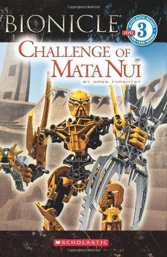 9780545162098: Bionicle: Challenge of Mata Nui (Scholastic Readers)