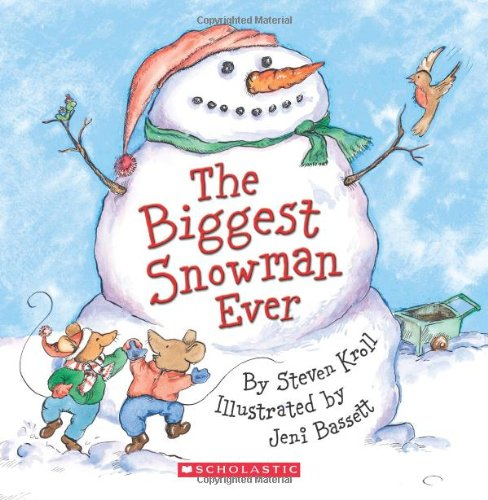 9780545163507: The Biggest Snowman Ever [With Paperback Book]