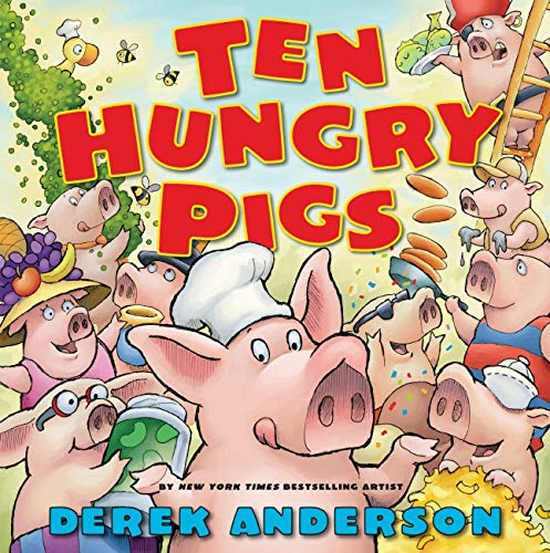 9780545168489: Ten Hungry Pigs