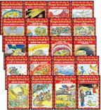 THE MAGIC SCHOOL BUS READER COMPLETE 20-BOOK SET