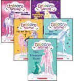 9780545174183: Unicorn School Complete Set, Books 1-5: First-Class Friends, The Surprise Party, The Treasure Hunt, The School Play, and The Pet Show (5-Book Set)