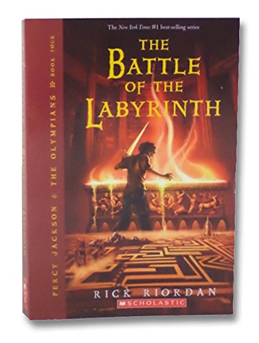 9780545174817: The Battle of the Labyrinth (Percy Jackson & the Olympians, Volume 4) by Rick...