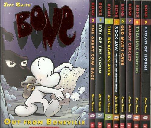 9780545175579: Bone (9 Volumes)