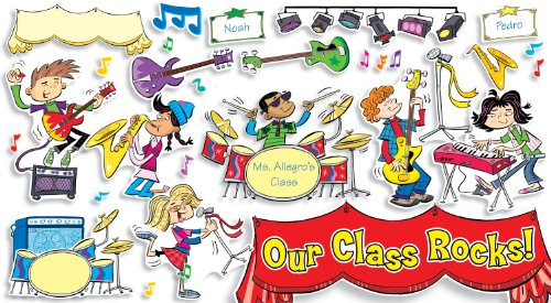 9780545177443: School Rocks! Bulletin Board