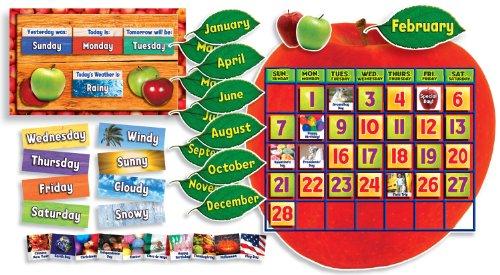 9780545177481: Apple Photo Calendar Bulletin Board