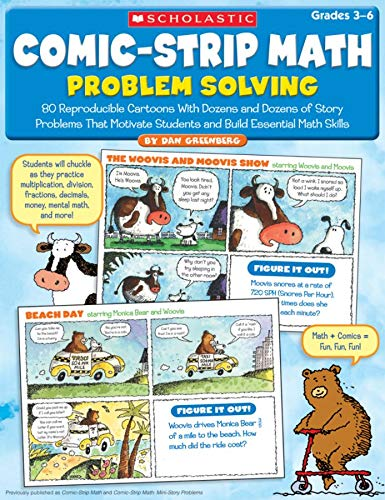 9780545195713: Comic-Strip Math: Problem Solving: 80 Reproducible Cartoons with Dozens and Dozens of Story Problems That Motivate Students and Build Essential Math S
