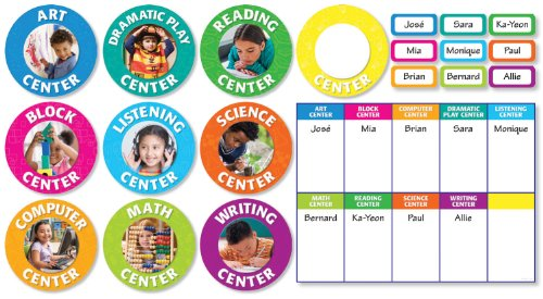 9780545195805: Classroom Center Signs Bulletin Board Set