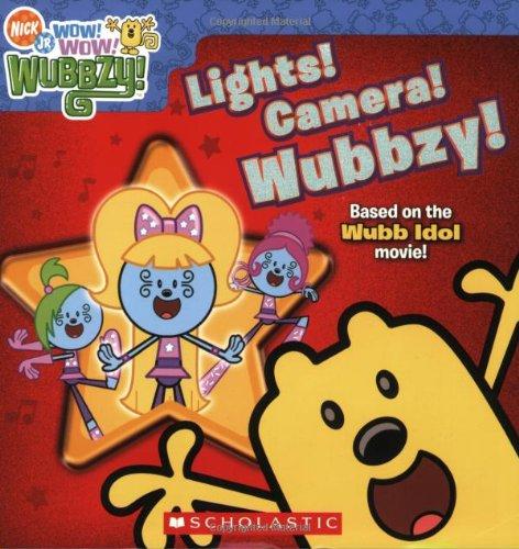 9780545197236: Wow! Wow! Wubbzy!: Lights! Camera! Wubbzy!