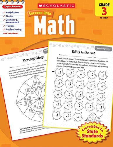 9780545200691: Math, Grade 3 (Scholastic Success with Workbooks: Math)