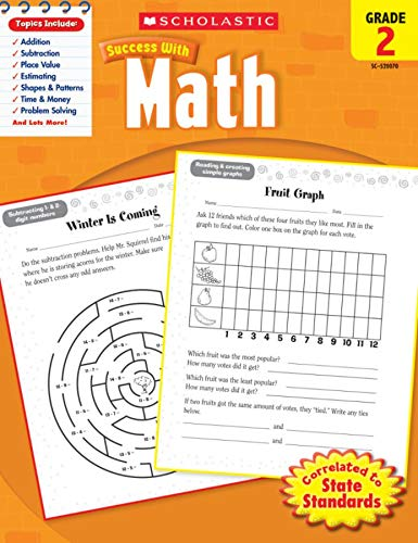 9780545200707: Scholastic Success with Math, Grade 2 (Scholastic Success with Workbooks: Math)