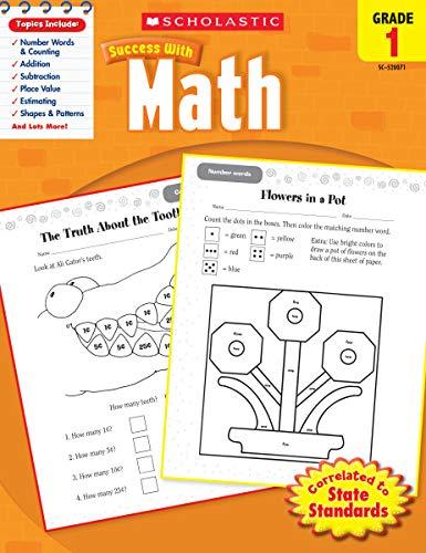 9780545200714: Scholastic Success with Math, Grade 1 (Scholastic Success with Workbooks: Math)