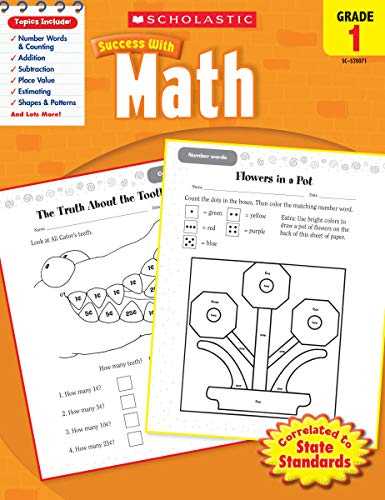 9780545200714: Scholastic Success with Math, Grade 1 (Scholastic Success with Workbooks: Math)