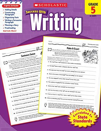 Scholastic Success with Writing, Grade 5: Barbara Adams (author)