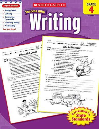 Scholastic Success with Writing, Grade 4: Barbara Adams (author)