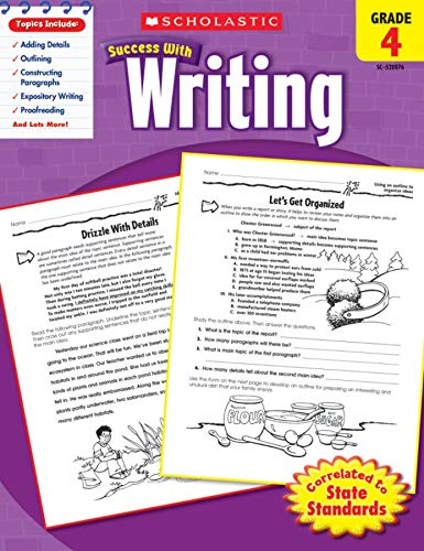 9780545200769: Scholastic Success with Writing, Grade 4