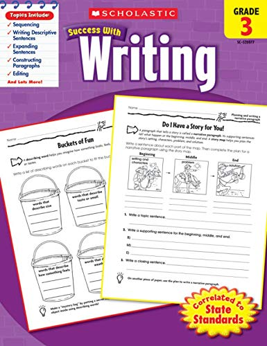 9780545200776: Scholastic Success with Writing, Grade 3