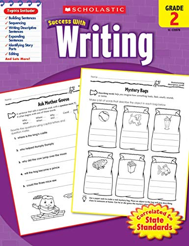 9780545200783: Scholastic Success with Writing, Grade 2