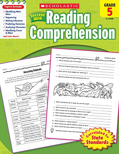 9780545200806: Scholastic Success with Reading Comprehension, Grade 5