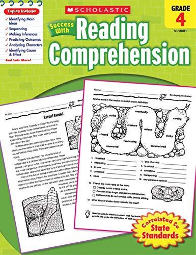 9780545200813: Scholastic Success with Reading Comprehension, Grade 4