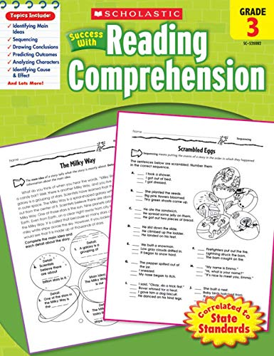 9780545200820: Scholastic Success with Reading Comprehension, Grade 3
