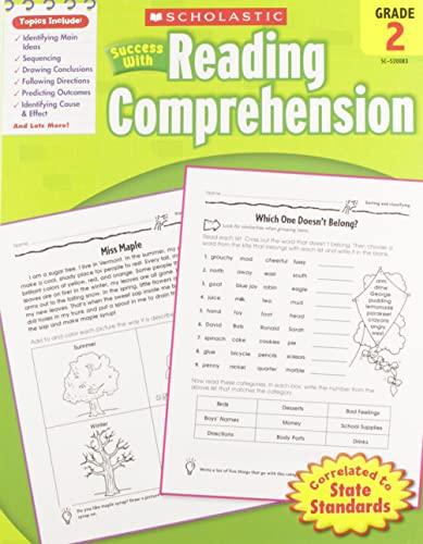 9780545200837: Scholastic Success with Reading Comprehension, Grade 2