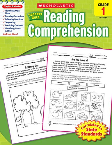 9780545200844: Scholastic Success With Reading Comprehension: Grade 1