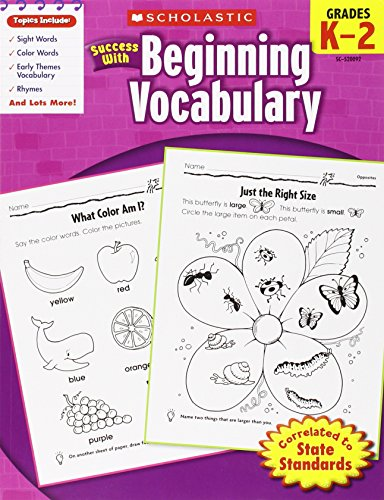 9780545200929: Scholastic Success with Beginning Vocabulary